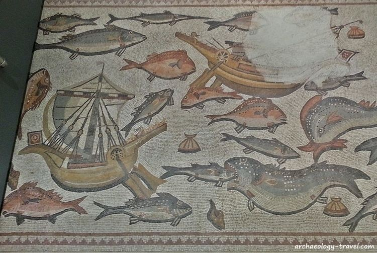 Lod Mosaic Archaeological Center The Lod Mosaic at Waddesdon Manor a review Archaeology Travel