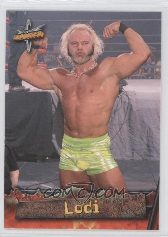 Lodi (wrestler) 1999 Topps WCW Embossed Base 40 Lodi COMC Card Marketplace