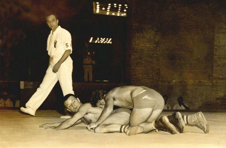 Loek Alflen RamCapra Olympische Spelen 1960