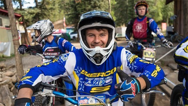 Logan Bolopue MotoTrials Logan Bolopue Renews Commitment With Sherco USA Cycle News