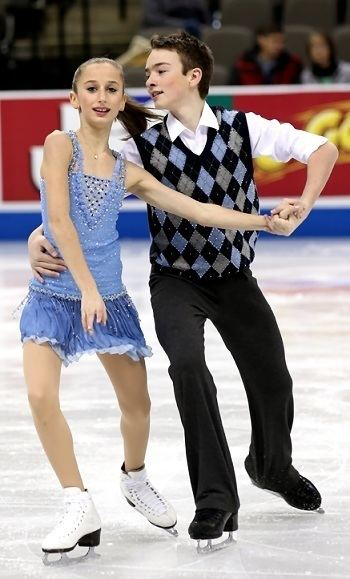 Logan Bye Lewis and Bye win novice ice dance title at 2013 US Nationals