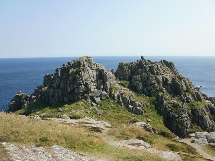 Logan Rock Walk from Treen to Logans Rock Secret Cornwall