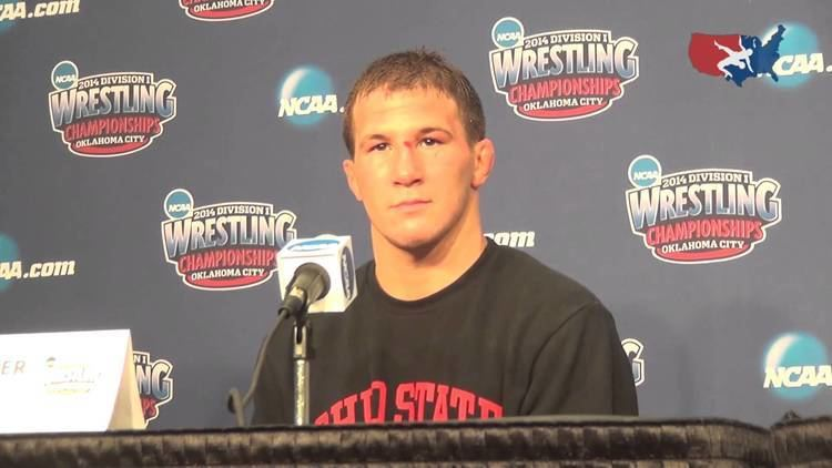 Logan Stieber Logan Stieber Ohio State 2014 NCAA Champion at 141 pounds YouTube