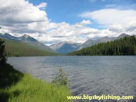 Logging Lake wwwbigskyfishingcomNationalparksglacierloggi