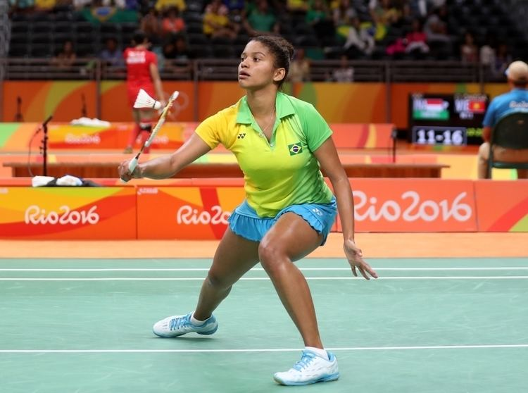 Lohaynny Vicente Brazil Badminton Grabs Spotlight BWF Fansite