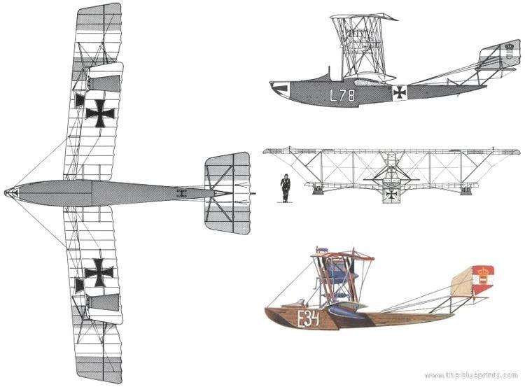 Lohner L TheBlueprintscom Blueprints gt WW2 Airplanes gt Various gt Lohner L
