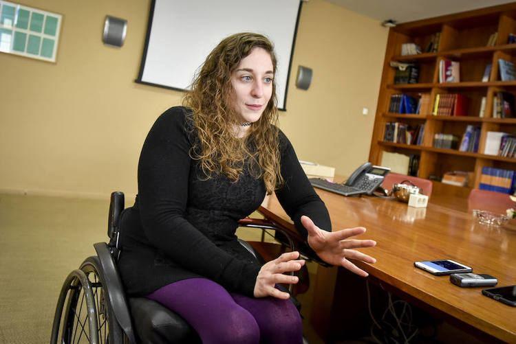 Loida Zabala Ollero HOY entrevista a la paralmpica verata Loida Zabala La silla de