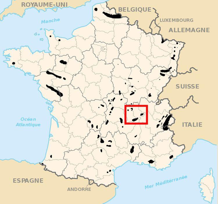 Loire coal mining basin