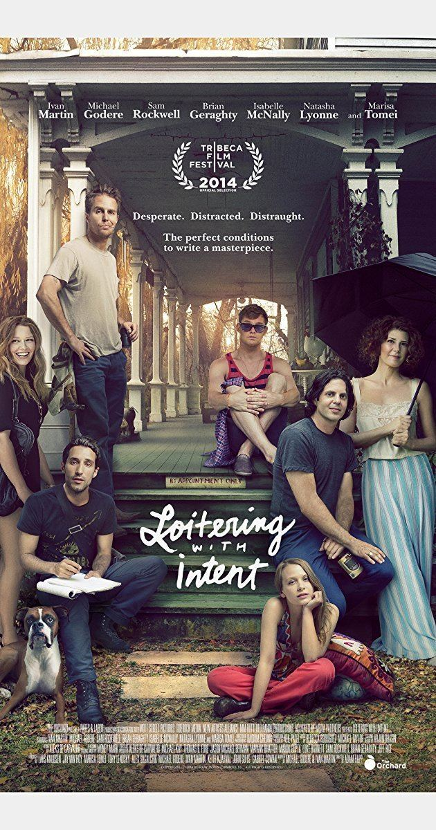 Loitering with Intent (film) Loitering with Intent 2014 IMDb