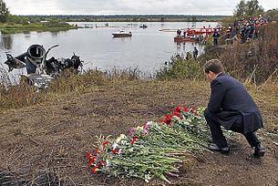 Lokomotiv Yaroslavl plane crash Lokomotiv Yaroslavl plane crash Wikipedia