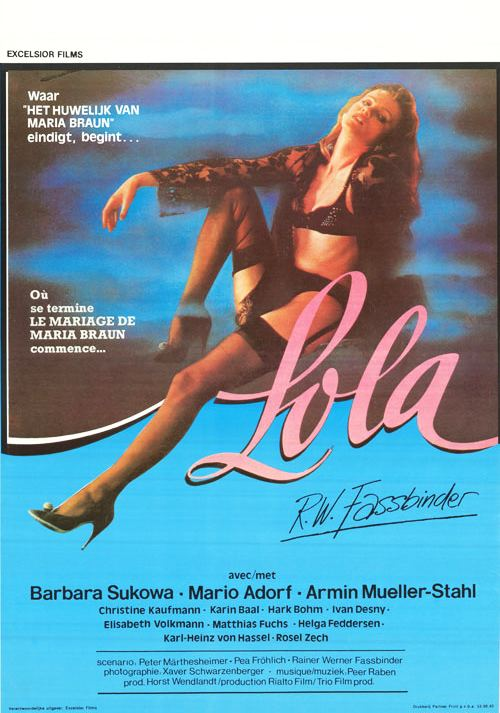 Lola (1981 film) Candycolored decadence Fassbinders Lola 1981 The Same