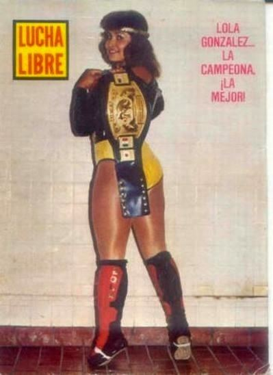 Lola Gonzales Lucha Women Lola Gonzlez Mexican Lady Wrestlers
