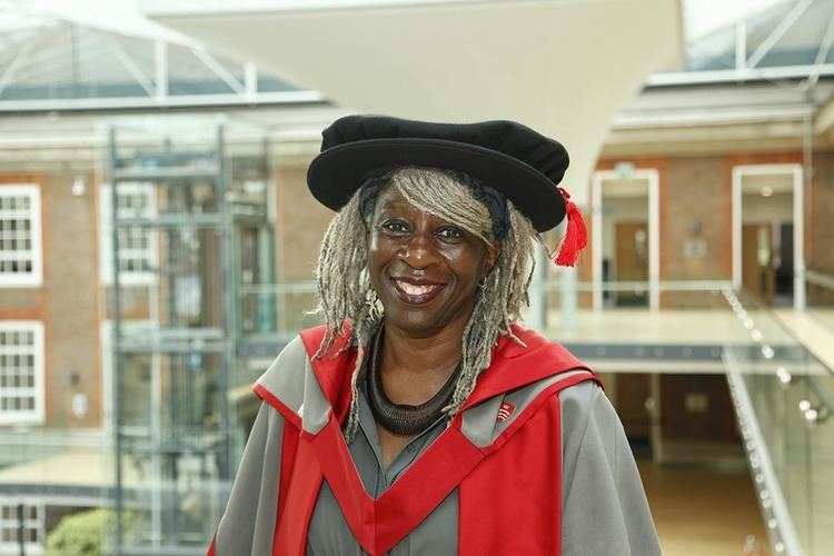 Lola Young, Baroness Young of Hornsey Baroness Young of Hornsey given honorary degree by Middlesex