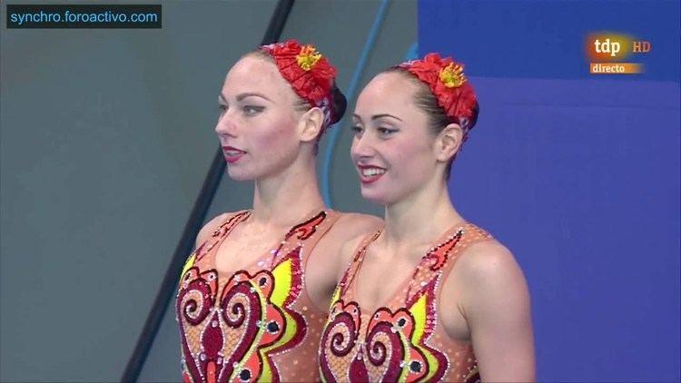 Lolita Ananasova Lolita AnanasovaAnna Voloshyna UKR Duet Technical Final European