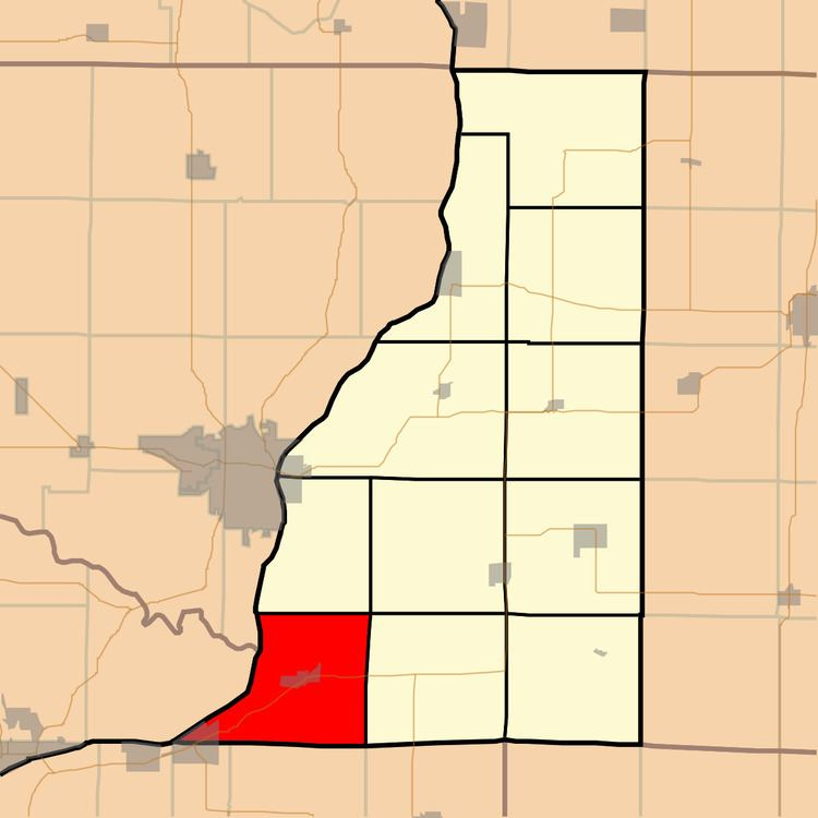Lomax Township, Henderson County, Illinois