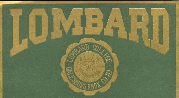 Lombard College Lombard College Scrapbook Digital Exhibits Knox College