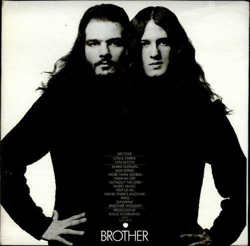 Lon & Derrek Van Eaton Lon amp Derrek Van Eaton Brother Press Photo amp Insert UK vinyl LP