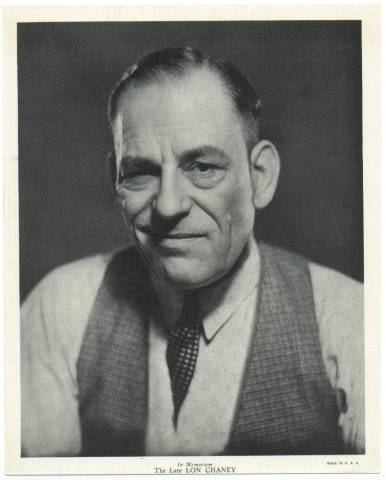 Lon Chaney Lon Chaney Sr in The Silent Collection by Tammy Stone
