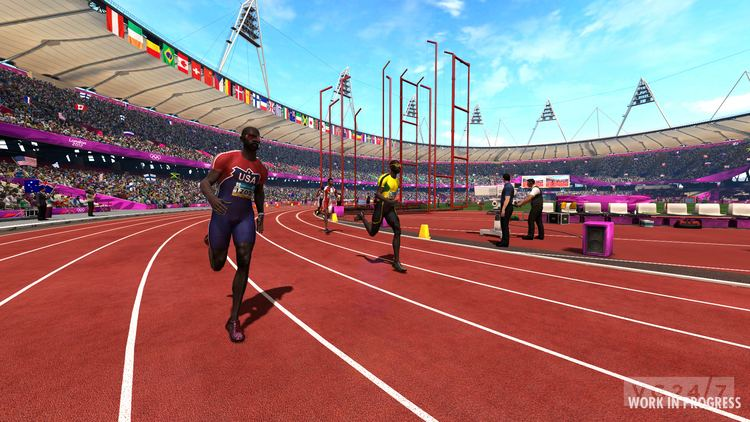 London 2012 (video game) Sega announces London 2012 The Official Video Game of the Olympic