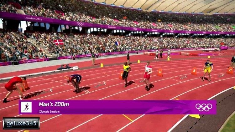 London 2012 (video game) London 2012 The Official Video Game of the Olympic Games Gameplay