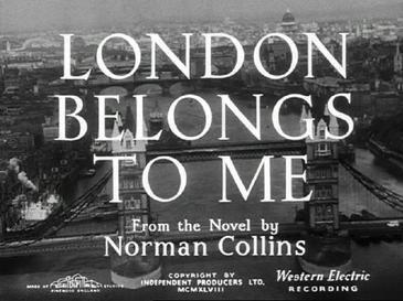 London Belongs to Me London Belongs to Me Wikipedia