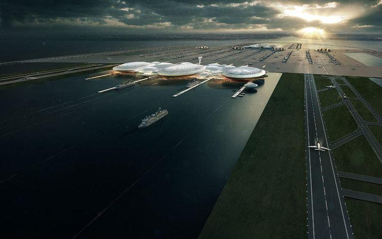 London Britannia Airport London Britannia Airport Thames Estuary earchitect