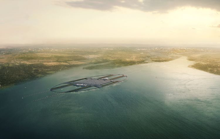 London Britannia Airport Here Are The Spectacular Plans For A Floating Airport In London