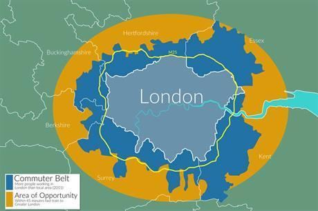 London commuter belt Report urges power shift to deliver garden suburbs in London
