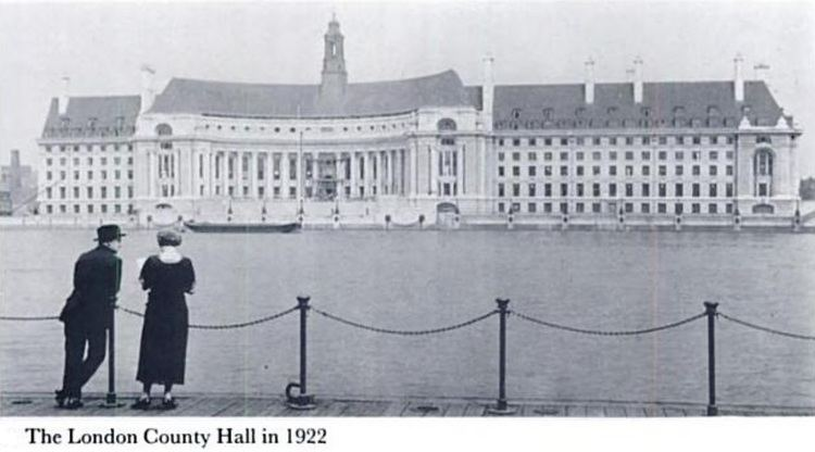 London County Council election, 1922