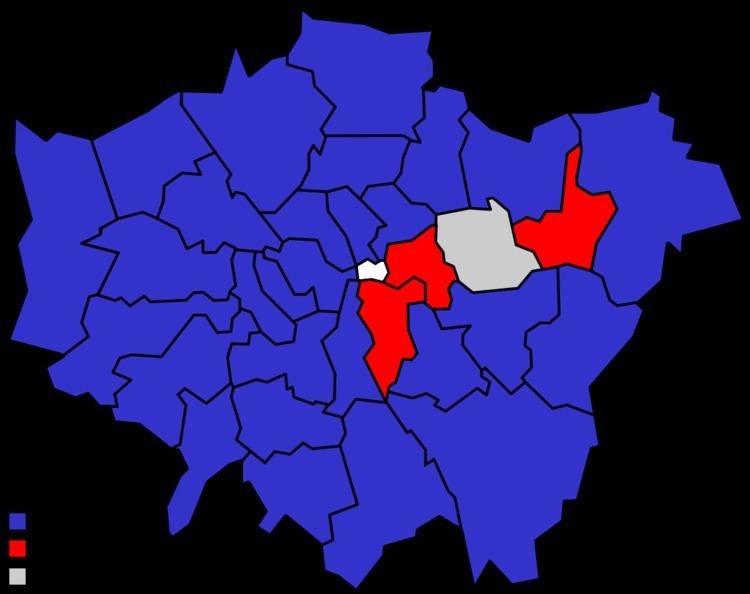 London local elections, 1968