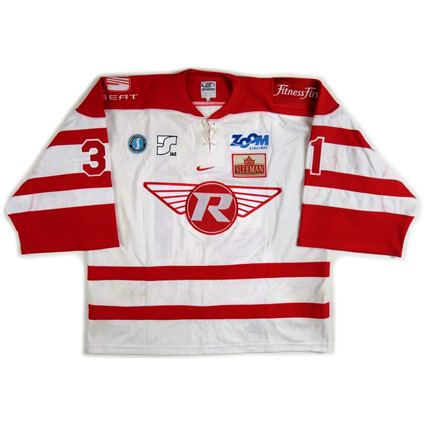 London Racers Third String Goalie 200405 London Racers Adam Dobson Jersey