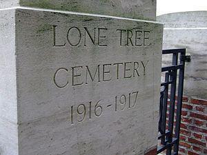 Lone Tree Commonwealth War Graves Commission Cemetery httpsuploadwikimediaorgwikipediacommonsthu