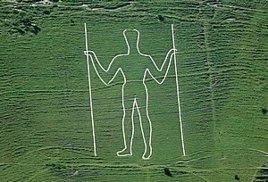 Long Man of Wilmington Long ManWilmingtonChalk Figures The Sussex Archaeological Society