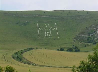 Long Man of Wilmington The Long Man of Wilmington Historic Site in Polegate East Sussex
