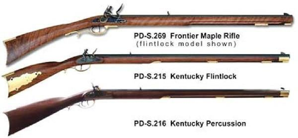 Long rifle Kentucky rifles had local roots News dailyitemcom