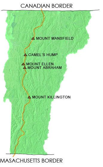 Long Trail Vermont 4000 Footers Hike VT Mountains 4000 Footer List Vermont 4000