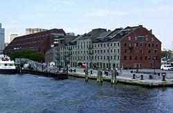 Long Wharf (Boston) Long Wharf and Custom House Block featured in Maritime History of