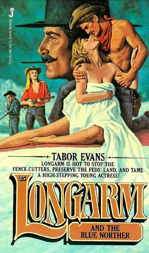 Longarm (book series) Ben Bridges Western Author Harry Whittington