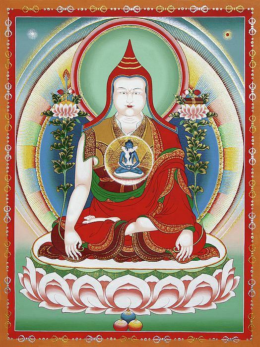Longchenpa longchenpasergeynoskov Tibetan Buddhist Altar