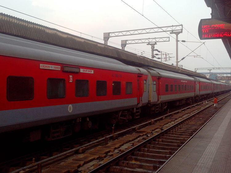 Longest non-stop run in Indian Railways