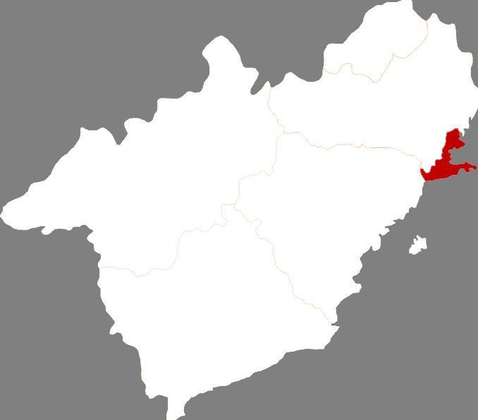 Longgang District, Huludao