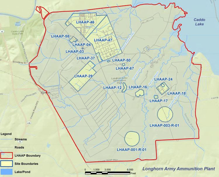 Longhorn Army Ammunition Plant Environmental Restoration for Longhorn Army Ammunition Plant