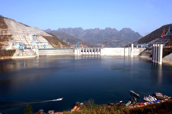 Longtan Dam China Longtan Hydropower Station Hydropower Sinohydro
