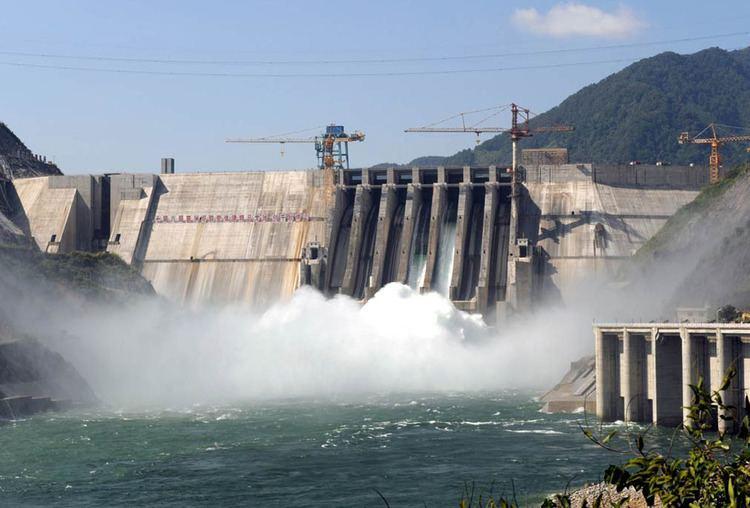 Longtan Dam Usina Hidreltrica Longtan China Mega Engenharia