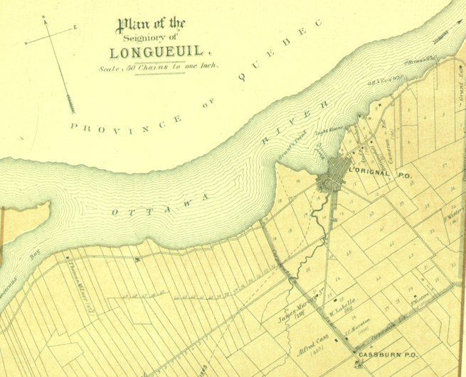 Longueuil in the past, History of Longueuil