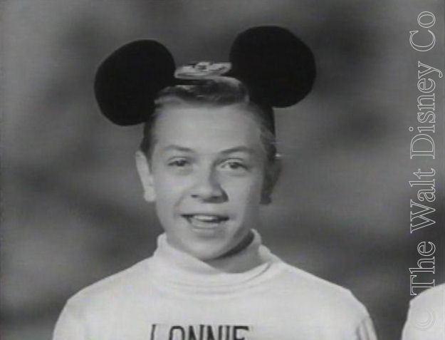 Lonnie Burr Mickey Mouse Club Cast Lonnie Burr
