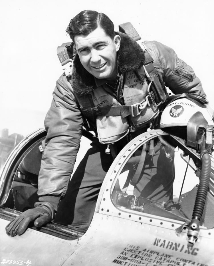 Lonnie R. Moore F86 Pilot Captain Lonnie R Moore of 335th FIS 4th Fighter Wing