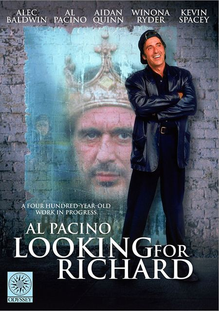 Looking for Richard REVIEW LOOKING FOR RICHARD 1996 STARRING AL PACINO UK DVD