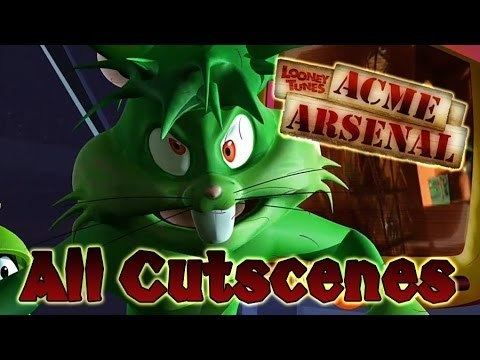 Looney Tunes: Acme Arsenal Looney Tunes Acme Arsenal All Cutscenes Full Game Movie X360