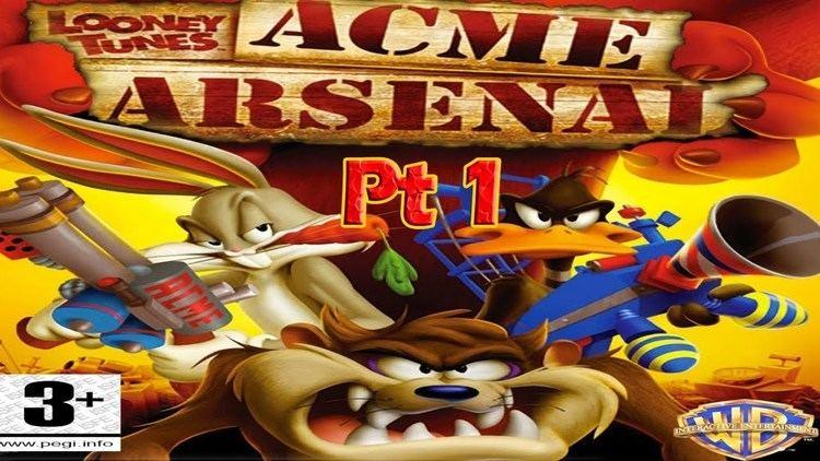 Looney Tunes: Acme Arsenal Looney Tunes Acme Arsenal Gameplay pt1 xbox 360 YouTube